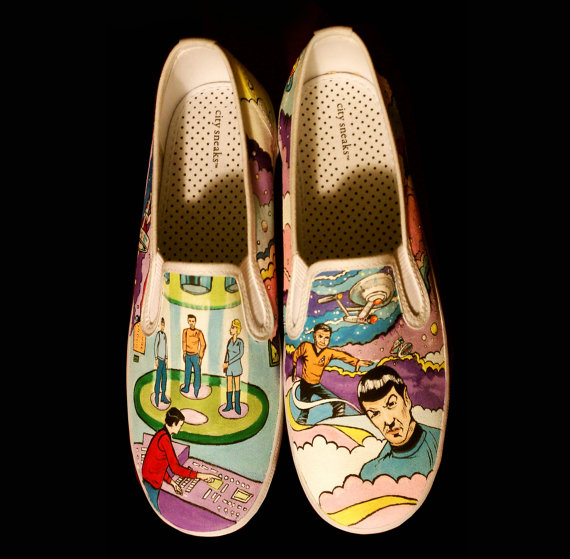 19 Awesome and Inspiring Custom Shoe Designs 12