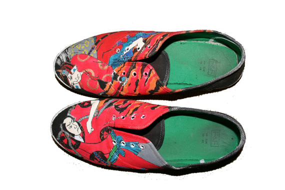 19 Awesome and Inspiring Custom Shoe Designs 13