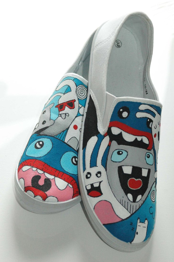 19 Awesome and Inspiring Custom Shoe Designs 4