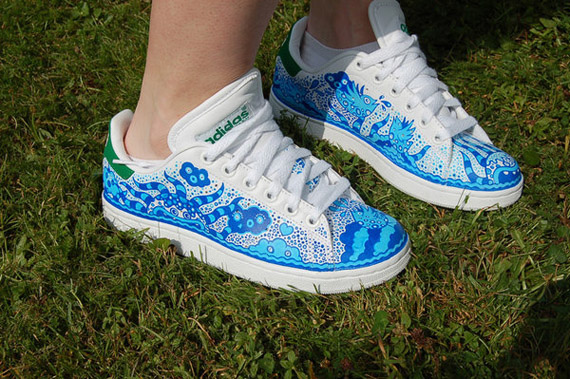 19 Awesome and Inspiring Custom Shoe Designs 6