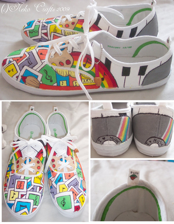19 Awesome and Inspiring Custom Shoe Designs 7