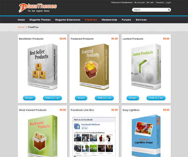 Websites to Download Free Magento Templates