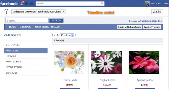 Top 5 Online Stores to Like on Facebook 3