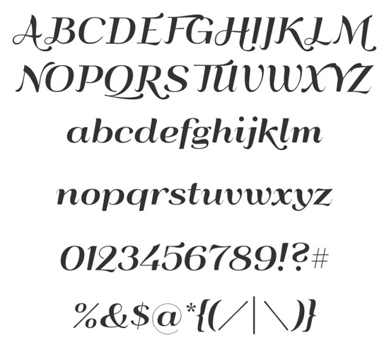 40+ Useful Fresh Free Fonts For Your Design 22