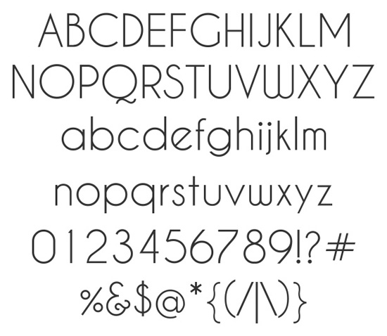 40+ Useful Fresh Free Fonts For Your Design 24