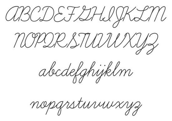 40+ Useful Fresh Free Fonts For Your Design 25