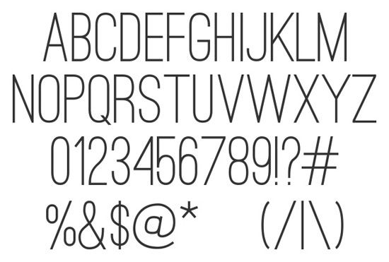 40+ Useful Fresh Free Fonts For Your Design 30