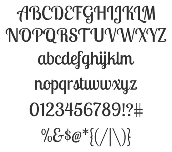 40+ Useful Fresh Free Fonts For Your Design 32