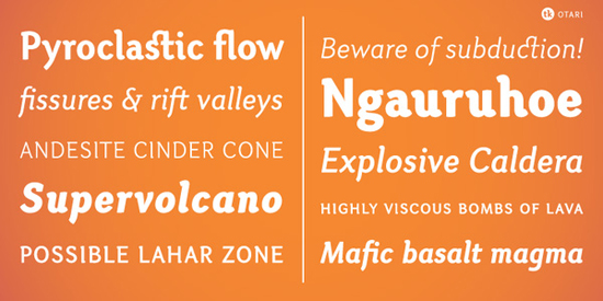 40+ Useful Fresh Free Fonts For Your Design