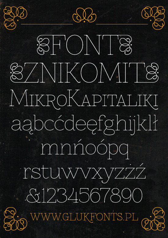 40+ Useful Fresh Free Fonts For Your Design 8