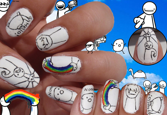 20 Excellent Nail Art for Inspiration 1