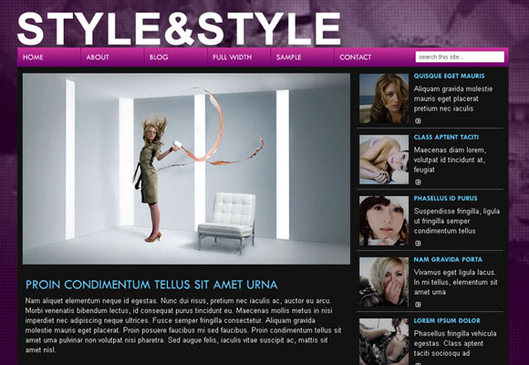 10 WordPress Themes to Make Your Blog Look Fashionable 3