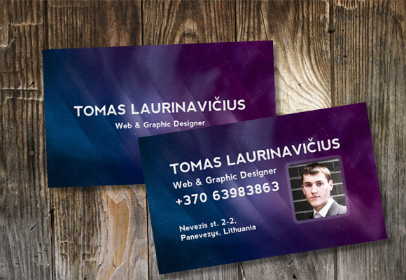 10 High Quality Business Card Tutorials with PSD Templates