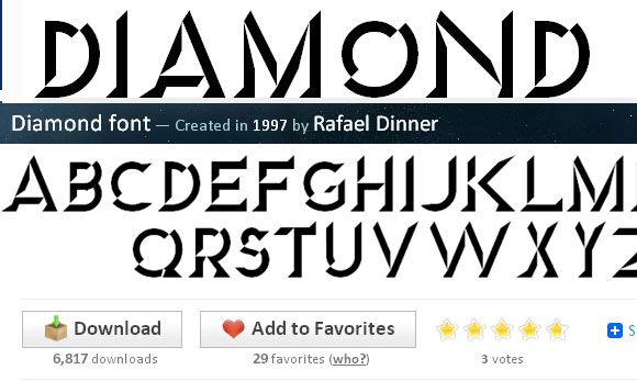 Beautiful Collection of Creative Embossed Font for Free 10