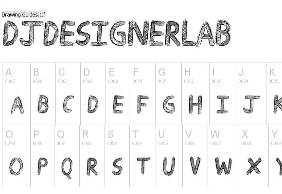 Beautiful Collection of Creative Embossed Font for Free 8