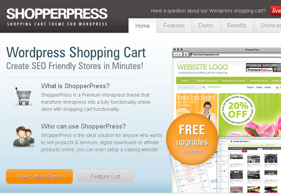 10 Free and Premium Shopping Cart Plugins for WordPress 3