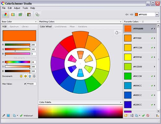 10 Useful Color Palette Tools for Designers 5