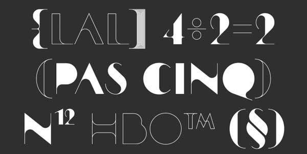 16 Beautiful Fonts for Big Banners and Posters 10