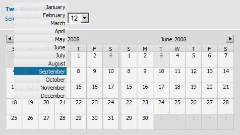 10 Beautiful jQuery Calendar Plugins 5
