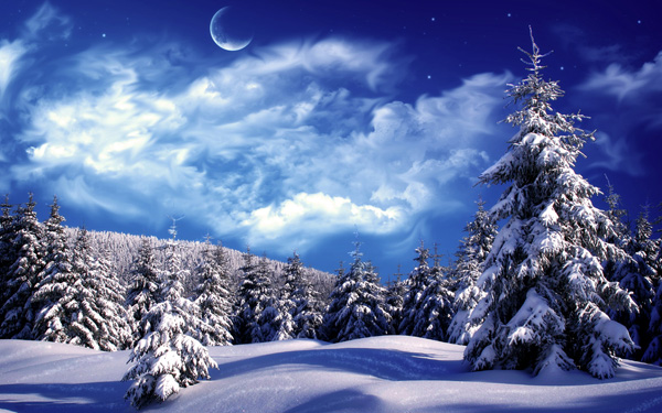 20 Beautiful Winter Wallpaper for Desktop 5