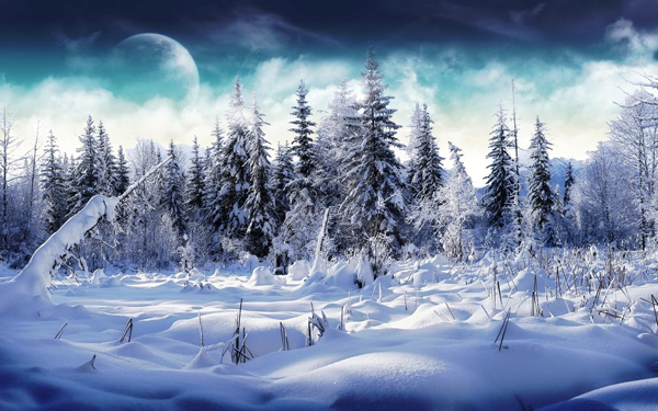 20 Beautiful Winter Wallpaper for Desktop 8