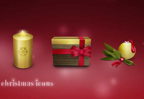 10 Beautiful Set of Christmas Icons for Web Designers 3