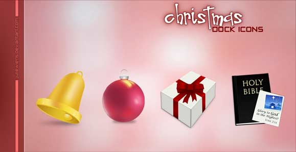 10 Beautiful Set of Christmas Icons for Web Designers 4