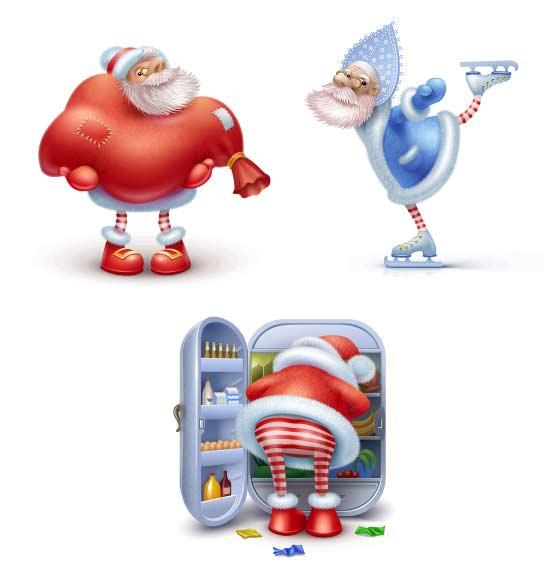 10 Beautiful Set of Christmas Icons for Web Designers 7