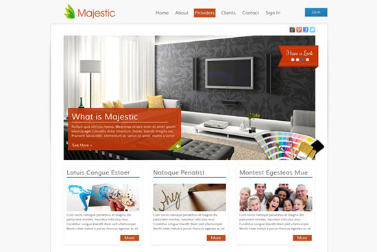 30 Fresh PSD Website Templates for Free Download 6
