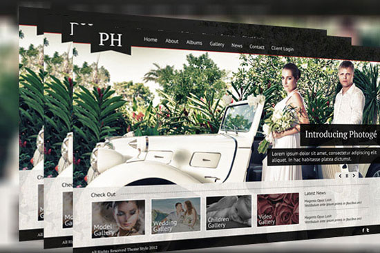 30 Fresh PSD Website Templates for Free Download 9