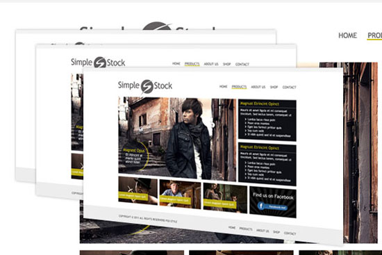30 Fresh PSD Website Templates for Free Download 10