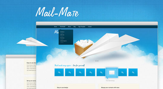 30 Fresh PSD Website Templates for Free Download 14