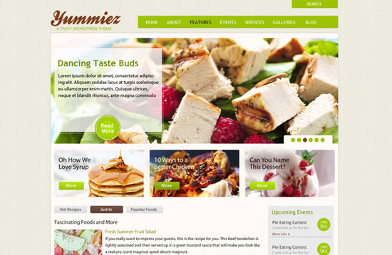 30 Fresh PSD Website Templates for Free Download 19