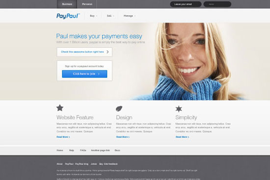 30 Fresh PSD Website Templates for Free Download 3