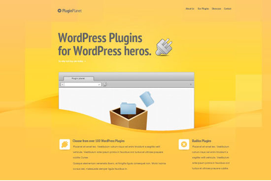 30 Fresh PSD Website Templates for Free Download 4
