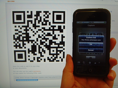 10 Beautiful Examples of QR Code and Their Usability 3