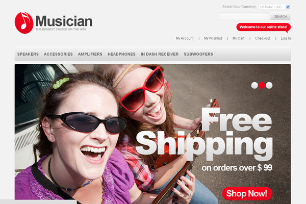 Showcase Of Top Magnificent Magento Themes