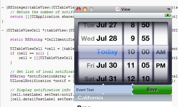 15+ Useful iPhone Application Development Tutorials Around The Web 7