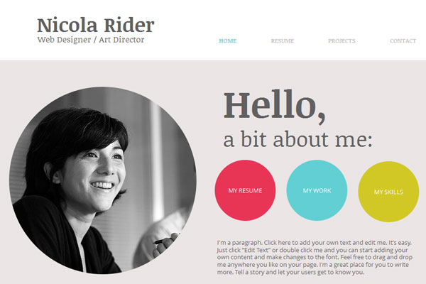 15 Beautiful Portfolio Website for Free Download