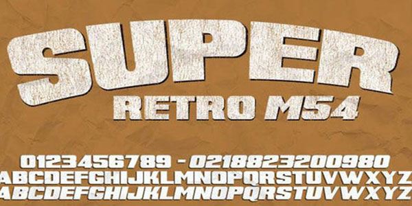 20 + Free Vintage and Retro Fonts for Fonts Lovers 20