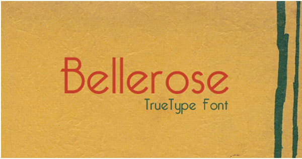 20 + Free Vintage and Retro Fonts for Fonts Lovers 3