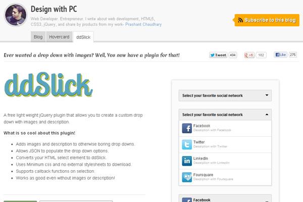 20 Useful jQuery UI Framework Plugins for Web Designers 12