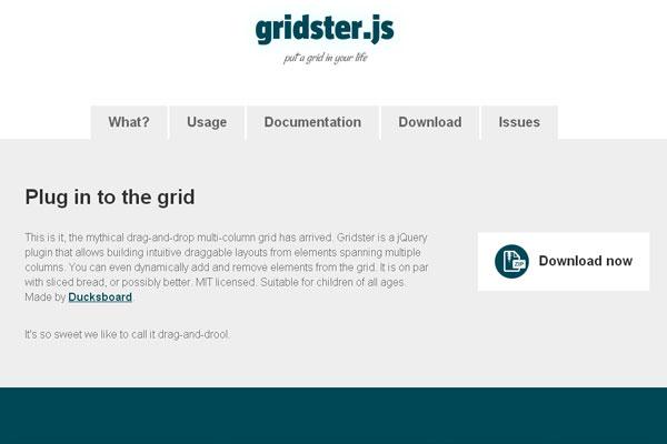 20 Useful jQuery UI Framework Plugins for Web Designers 2