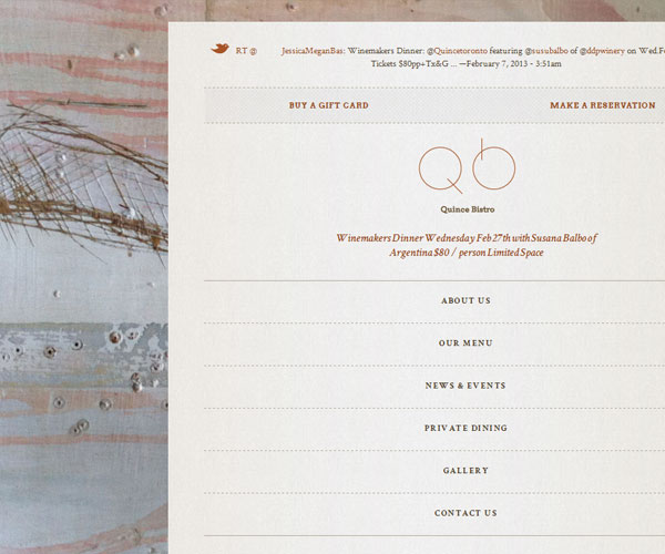 20 Magnificent Examples of Texture Usage in Web Design 12