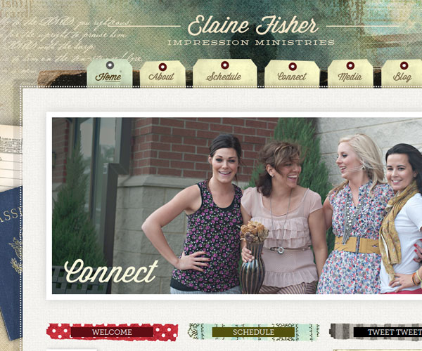 20 Magnificent Examples of Texture Usage in Web Design 14