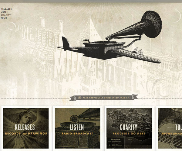 20 Magnificent Examples of Texture Usage in Web Design 15