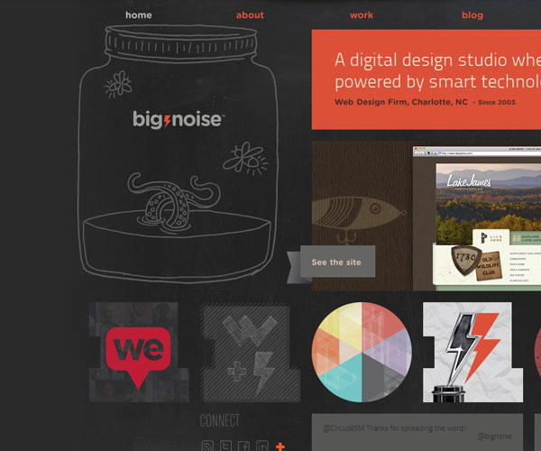 20 Magnificent Examples of Texture Usage in Web Design 16