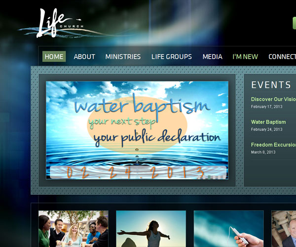 20 Magnificent Examples of Texture Usage in Web Design 17