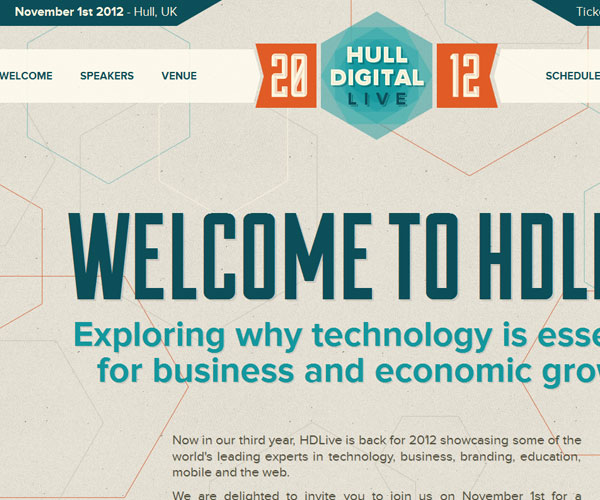 20 Magnificent Examples of Texture Usage in Web Design 3