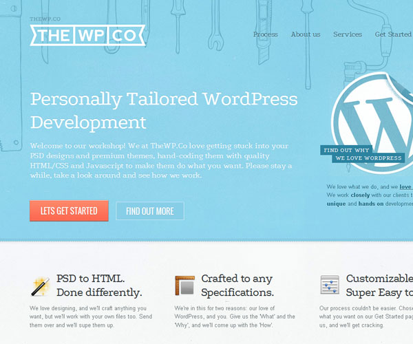 20 Magnificent Examples of Texture Usage in Web Design 5